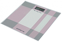 Напольные весы электронные Polaris PWS1849DG (серый/розовый) -