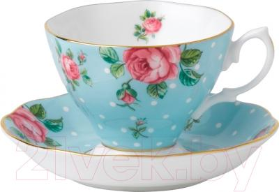 Набор для чая/кофе Royal Albert Polka Blue/Vintage 26135