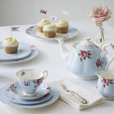 Набор для чая/кофе Royal Albert Polka Blue/Vintage 26135 - коллекция
