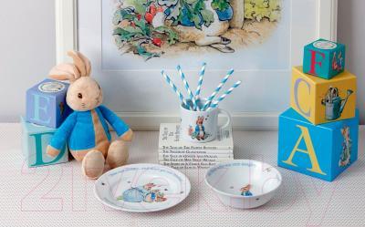 Набор столовой посуды Wedgwood Peter Rabbit Nurseryware (Gift) Peter Rabbit Boys - вид коллекции в интерьере