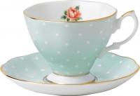 Набор для чая/кофе Royal Albert Polka Rose Vintage (для чая) -