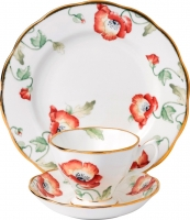 Набор для чая/кофе Royal Albert 1970 Poppy (3 пр) -