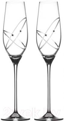 Набор бокалов для шампанского Royal Doulton Toasting Flutes Ring (2шт)