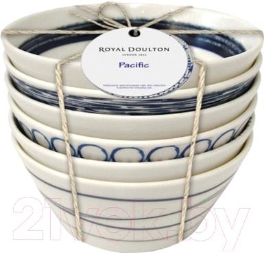Набор салатников Royal Doulton Pacific (6шт)