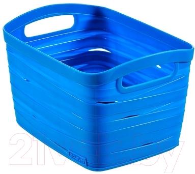 Корзина Curver Ribbon S 00718-X08-00 / 221163 (синий)