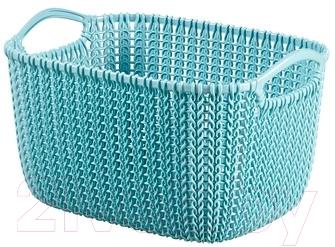 Корзина Curver Knit S 03674-X60-00 / 226392 (синий)