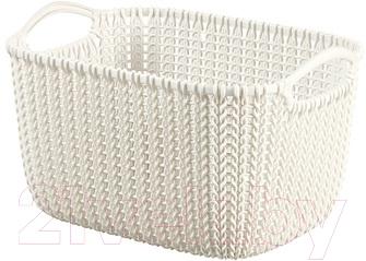Корзина Curver Knit S 03674-X64-00 / 226391 (белый)