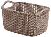 Корзина Curver Knit XS 03675-X59-00 / 226169 (коричневый) -