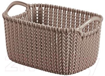 Корзина Curver Knit XS 03675-X59-00 / 226169 (коричневый)
