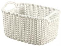 Корзина Curver Knit XS 03675-X64-00 / 226394 (белый) -