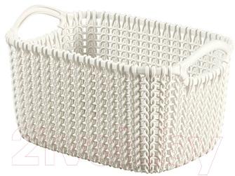 Корзина Curver Knit XS 03675-X64-00 / 226394 (белый)