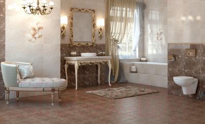 Бордюр для ванной Opoczno Nizza Gold (450x25)