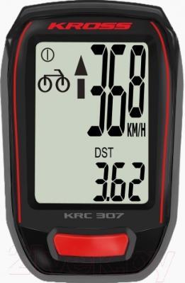 Велокомпьютер Kross KRC 307W (черный)