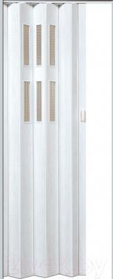 Дверь межкомнатная Vivaldi Pioneer Glass (беленый дуб)