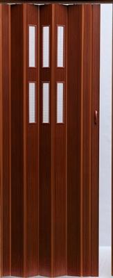 Дверь межкомнатная Vivaldi Pioneer Glass (темный орех)