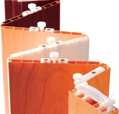 Дверь межкомнатная Vivaldi Silver Square (светлый дуб) - раздвижная система