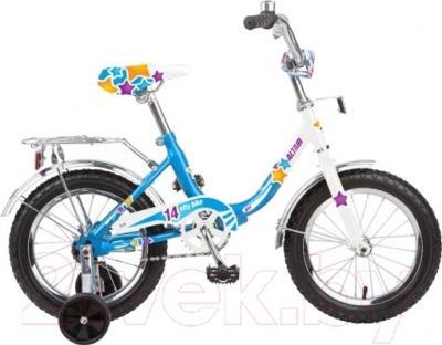 Детский велосипед Forward Altair City Girl 12 (белый/синий)