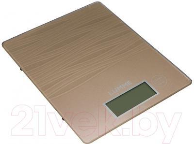 Кухонные весы Lumme LU-1318 (сияющая бронза)