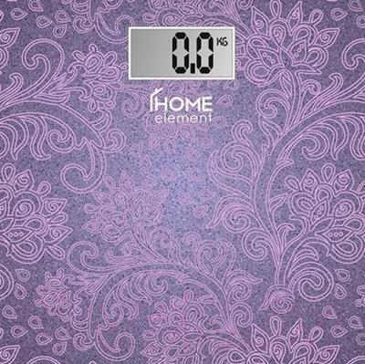 Напольные весы электронные Home Element HE-SC904 (лиловый)