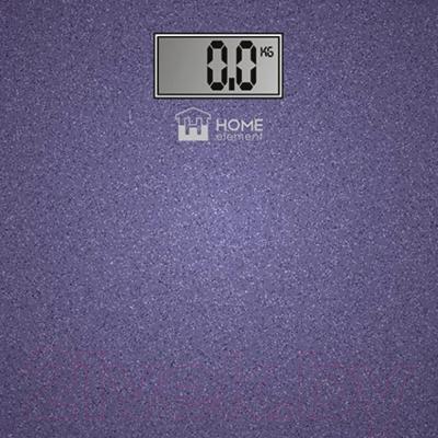 Напольные весы электронные Home Element HE-SC904 (лиловый блестящий)