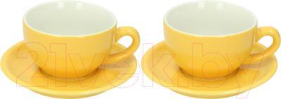 Набор для чая/кофе Tognana Omnia (желтый)