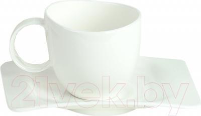 Набор для чая/кофе Tognana Ego-Arch Bianco (15пр)