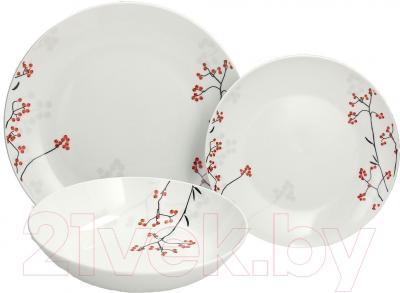 Набор столовой посуды Tognana Metropolis Bacche (18пр)