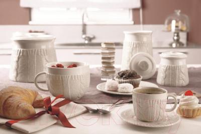 Набор для чая/кофе Tognana Pullover Sabbia (4пр)