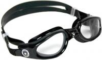 Очки для плавания Aqua Sphere Kaiman Junior 171210 (черные/прозрачные линзы) -