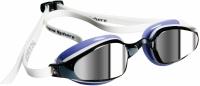 Очки для плавания Aqua Sphere Michael Phelps K180 Lady 173560 (белый/лаванда/зеркальные линзы) -
