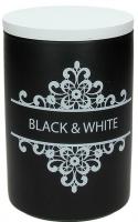 Емкость для хранения Tognana Dolce Casa Black And White (11x16см) -