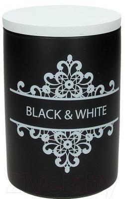 Емкость для хранения Tognana Dolce Casa Black And White (11x16см)