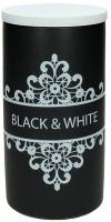 Емкость для хранения Tognana Dolce Casa Black And White (11см) -