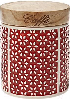 Емкость для хранения Tognana Dolce Casa Ginger Rosso (11см)