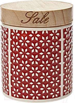 Емкость для хранения Tognana Dolce Casa Ginger Rosso (Sale)