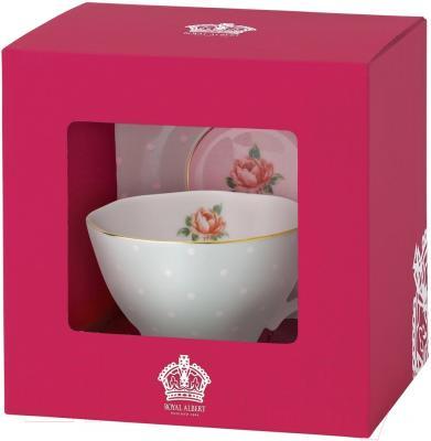 Набор для чая/кофе Royal Albert Polka Rose Vintage (для кофе)