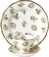 Набор для чая/кофе Royal Albert 1920 Spring Meadow (3пр) -