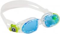 Очки для плавания Aqua Sphere Moby Kid 167930 (прозрачно-желтые/голубые линзы) -