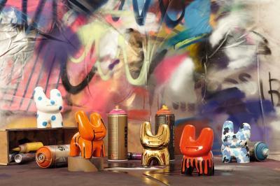 "Статуэтка Royal Doulton Street Art - Pure Evil ""Bunny Camo"""