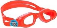 Очки для плавания Aqua Sphere Moby Kid 175520 (красные/прозрачные линзы) -