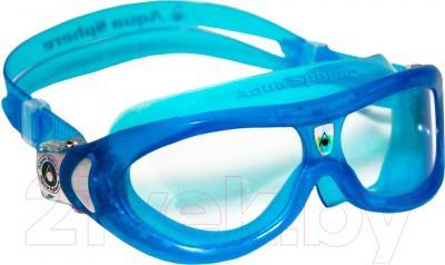 Очки для плавания Aqua Sphere Seal Kid 171420 (голубые/прозрачные линзы)