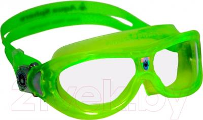 Очки для плавания Aqua Sphere Seal Kid 171430 (лайм/прозрачные линзы)