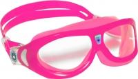 Очки для плавания Aqua Sphere Seal Kid 171400 (розовые/прозрачные линзы) -
