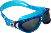 Очки для плавания Aqua Sphere Seal Kid 171470 (голубые/темные линзы) -