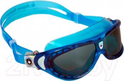 Очки для плавания Aqua Sphere Seal Kid 171470 (голубые/темные линзы)