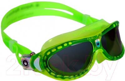 Очки для плавания Aqua Sphere Seal Kid 171460 (лайм/темные линзы)