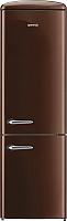 Холодильник с морозильником Gorenje ORK192CH -