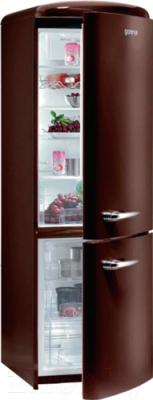 Холодильник с морозильником Gorenje ORK192CH