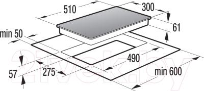 Индукционная варочная панель Gorenje IT332INB