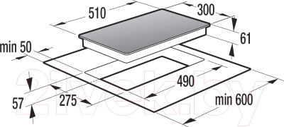 Индукционная варочная панель Gorenje IT332INI